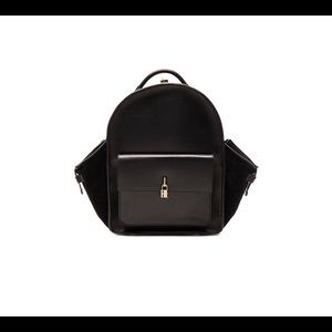 $3160 Buscemi Men's Aero Large Leather Backpack